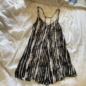 Abercrombie & Fitch Snake Skin Strappy Dress